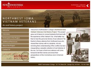Northwest Iowa Vietnam VeteransScreenshot