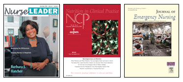 Just 3 of the over 500 journals available in CINAHL